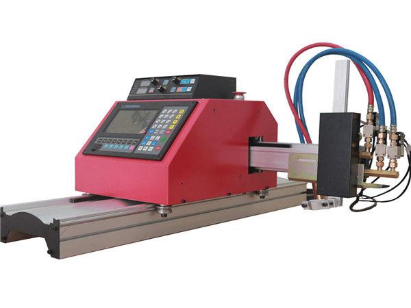 2017 ຂາຍຮ້ອນເຄື່ອງ gantry cnc flame plasma cutting machine ທີ່ມີ THC ສຳ ລັບເຫລັກ