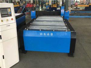 china 100a plasma cutting cnc machine ໂລຫະແຜ່ນ 10mm