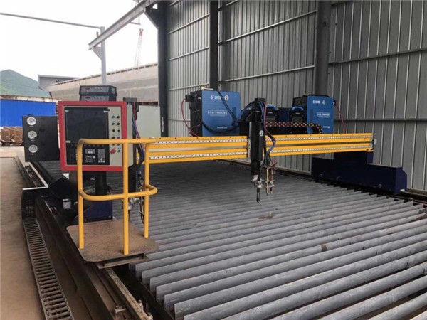 Gantry moved Hyperthem System cheap price CNC plasma Cutting Machine