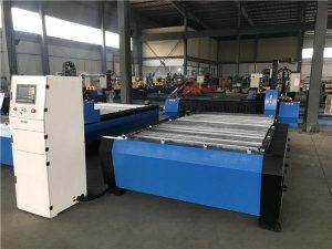 ຂະຫນາດໃຫຍ່ 2000 * 6000mm cnc ເຄື່ອງໂລຫະແຜ່ນໂລຫະທໍ່ plasma cutting machine