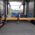 ເຄື່ອງຕັດ plasma cnc ທີ່ຖືກຕ້ອງຊັດເຈນ 13000mm servo motor