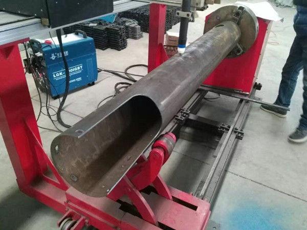 Rotating Shaft CNC Circle Tube Low Cost CNC Plasma Cutting Machine
