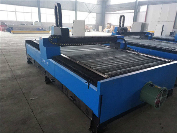ການຂາຍໂຮງງານມືອາຊີບໂດຍກົງອາລູມິນຽມ anodized G code cnc plasma cutting machine